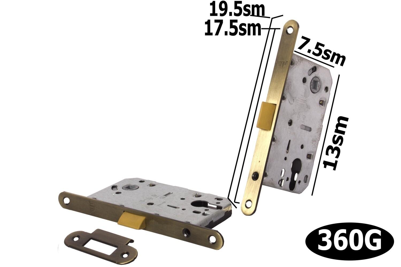 Դռան փականի մեխանիզմ SD 410 C-S AB