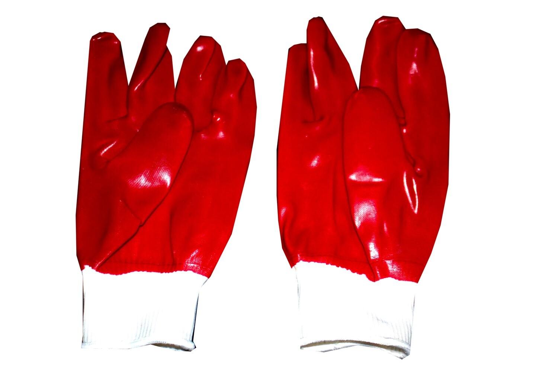 Բանվորական ձեռնոց (կարմիր, յուղի)