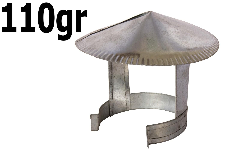 Վառարանի գլխարկ (բաց,ցինկ)