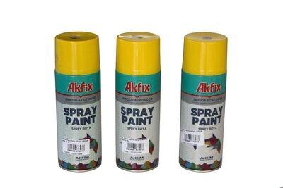 G_Ներկ-սփրեյ դեղին AKFIX 400 մլ_G