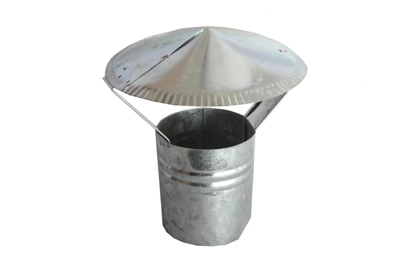 Վառարանի գլխարկ (փակ,ցինկ)