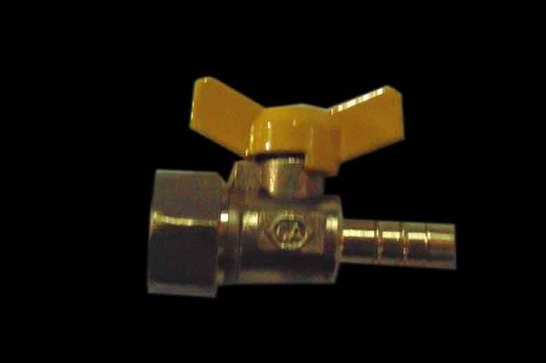 Ջրի փական շտուցեռով 1ճյուղ 1/2F 10մմ  (GA1809)