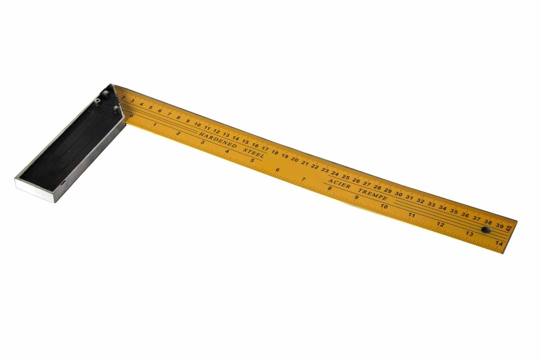 Շին.քանոն-անկյուն 50սմ (դեղին)