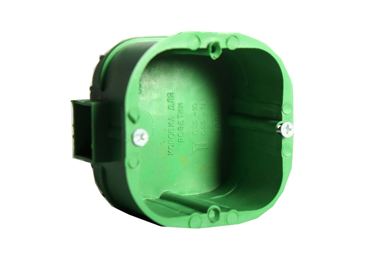 Տուփ վարդակի (1 տեղ,կանաչ)