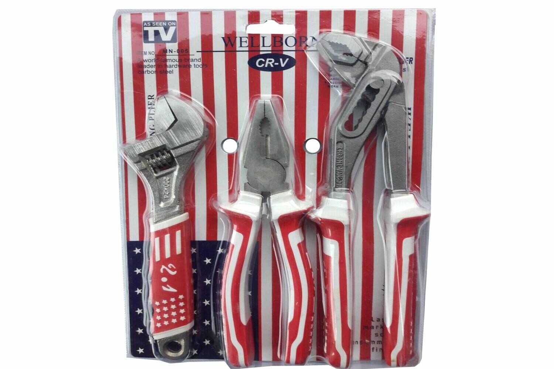 Գործիքների հավաքածու 3հատ USA