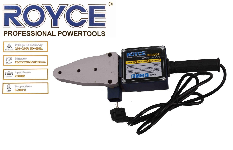 ROYCE Եռակցման ապարատ RPPR-2500 (Պլաստիկե Խողովակն