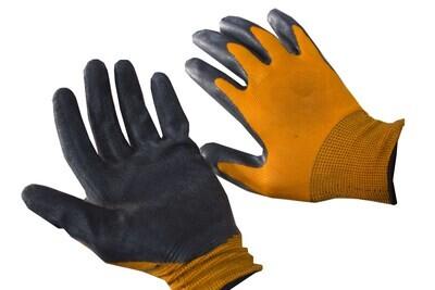 G_Բանվորական ձեռնոց նարնջագույն - սև_G
