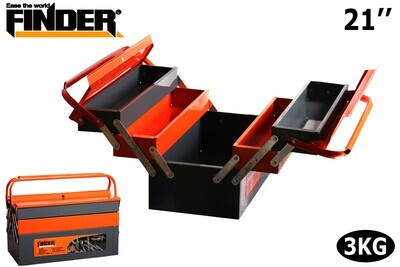 FINDER Գործիքների մետաղյա արկղ (530*210*200մմ) 21՛՛ 194136