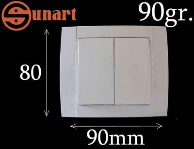 Sunart Էլ.անջատիչ ներքին SR-2504 (2 տեղ), Ограниченно годен