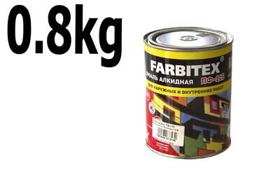 Ա էմալ ալկիդ. ՊՖ-115 Երկնագույն Farbitex ( 0,8 կգ.)