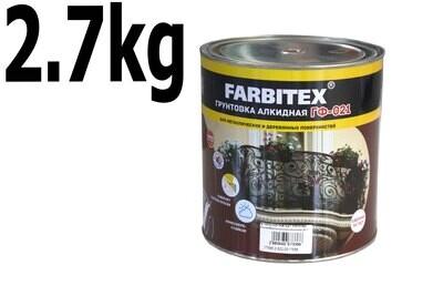 Ա Գրունտ ԳՖ-021 Farbitex մոխրագույն ( 2,7 կգ. )