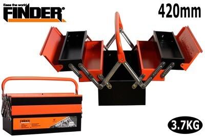 FINDER Գործիքների մետաղյա արկղ (420*210*200մմ) 18''  QX194134