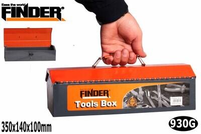 FINDER Գործիքների մետաղյա արկղ (350*140*100մմ) 12'' QX194131