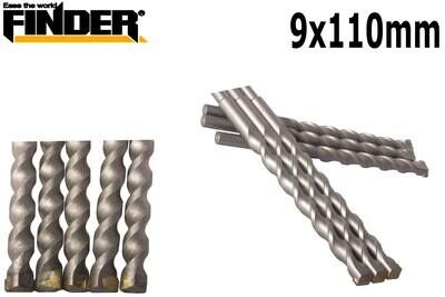 FINDER Շաղափ բետոնի 9X110mm QG196588P