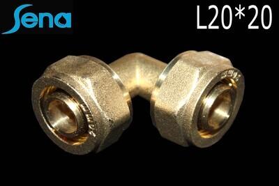 SENA Անկյուն մետաղապլաստի L20*20