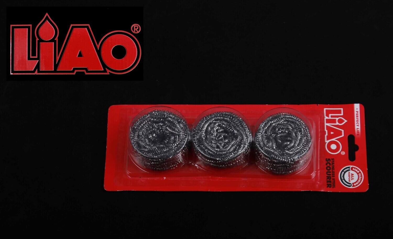 Liao Սպունգ մետաղյա 3Հատ  H130020