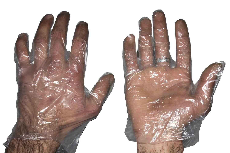 Ձեռնոց մեկանգամյա օգտ.(Թափանցիկ,100 հատ)