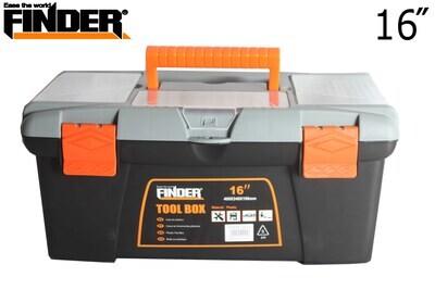 FINDER Գործիքների պլաստմասե արկղ (400*240*196մմ) 16՛՛ QX194125