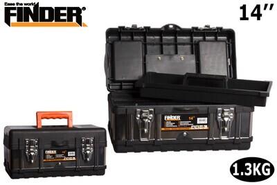 FINDER Գործիքների պլաստմասե արկղ (360*160*160մմ) 14'' QX194203
