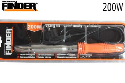 FINDER Էլ.պայալնիկ սպիտակ ուղիղ տափակ ծայրով 200W(550երկաթ) DG194823P