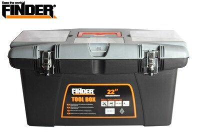 "FINDER Գործիքների պլտաստմասե արկղ (580*325*300մմ) 22"" QX194130"