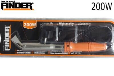 FINDER Էլ.պայալնիկ սպիտակ թեք տափակ ծայրով 200W(550երկաթ) DG194831P