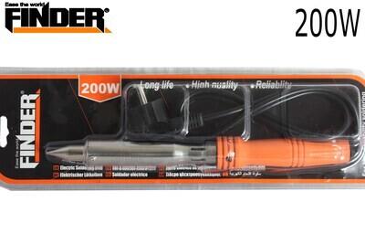 FINDER Էլ.պայալնիկ սպիտակ սուր ծայրով 200W(550երկաթ) DG194815P