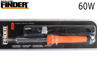 FINDER Էլ.պայալնիկ սպիտակ ուղիղ տափակ ծայրով 60W(550երկաթ) DG194819P
