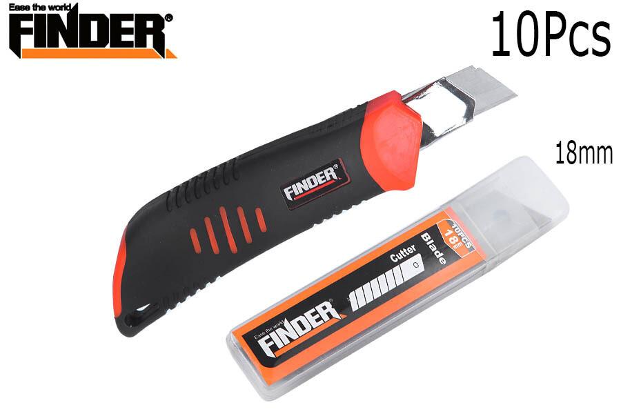 FINDER Դանակ պաստառի (պահուստային դանակով) 191785