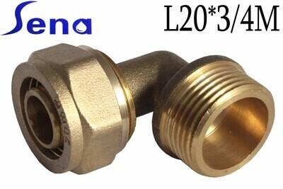 SENA Անկյուն մետաղապլաստի L20*3/4M