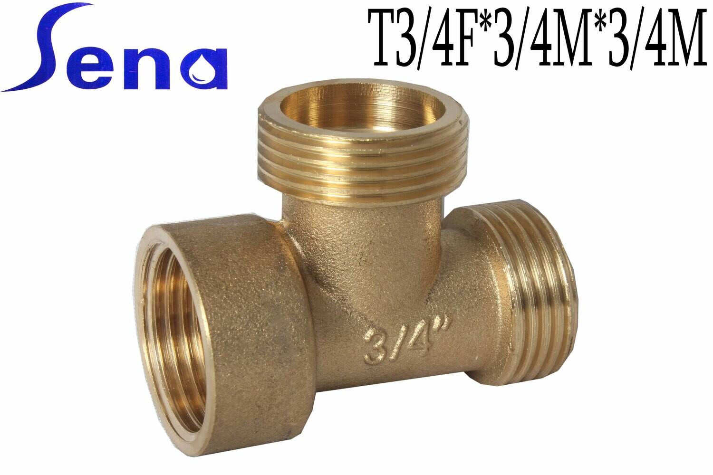 SENA Եռաբաշխիկ (тройник) T3/4F*3/4M*3/4M (HJ-8615)