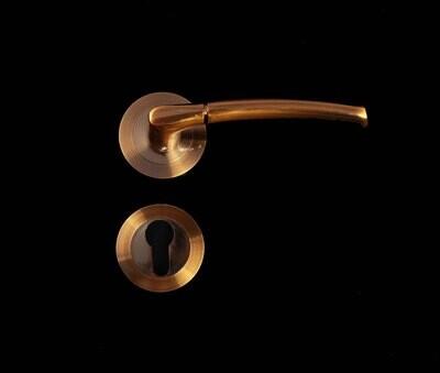 B_Դռան բռնակ (2 կտոր,ոսկեգույն) Z53-L8122 CFPZ_B