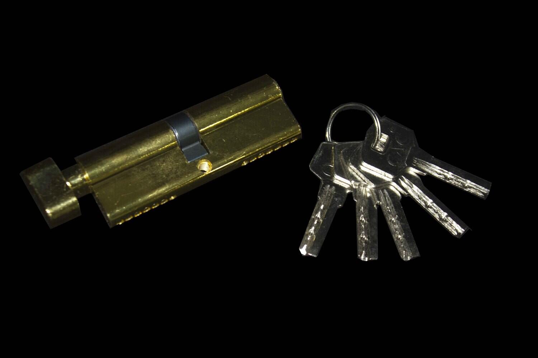 Դռան փականի միջուկ Hakai 8 սմ (ֆիկսատրով)