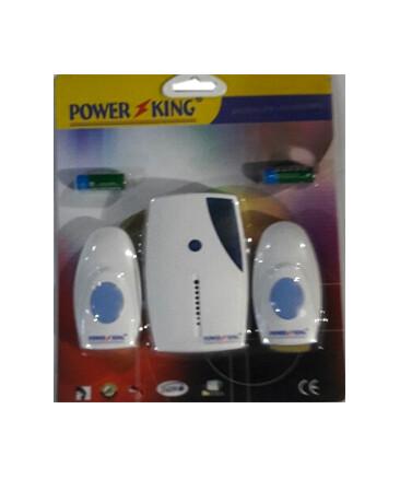 Դռան զանգ հեռակառավարվող POWER KING BL513D-PK513E3