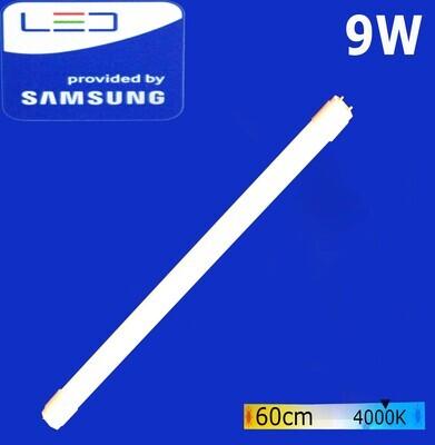Էլ.լամպ խողովակաձև LED Wellmax 9W Neutral white (60սմ)  (T8, 4000K-G13)