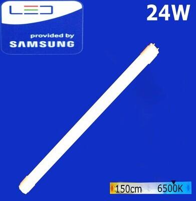 Էլ.լամպ խողովակաձև LED Wellmax 24W Daylight (150սմ) (T8, 6500K, G-13)
