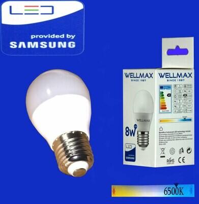 Էլ.լամպ LED Wellmax 08W/G45/E27/6500K/Daylight