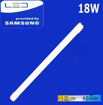 Էլ.լամպ խողովակաձև LED Wellmax 18W Daylight (120սմ)   (T8, 6500K-G-13)