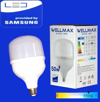 Էլ.լամպ LED Wellmax  50W (E27 6500K)
