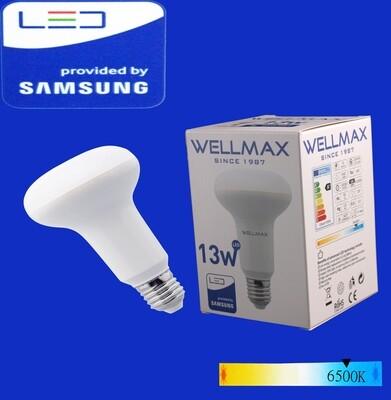 Էլ.լամպ LED Wellmax 13W daylight (R80 E27 6500K)