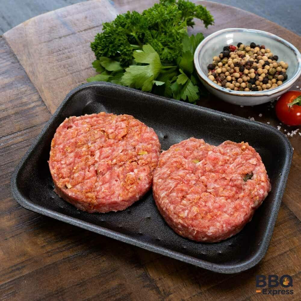Hamburger (half om half)