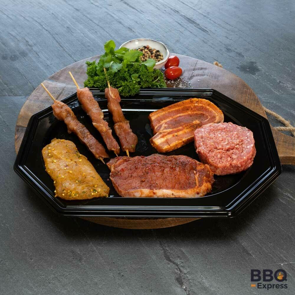 Burger Basic pakket, 7 delig.