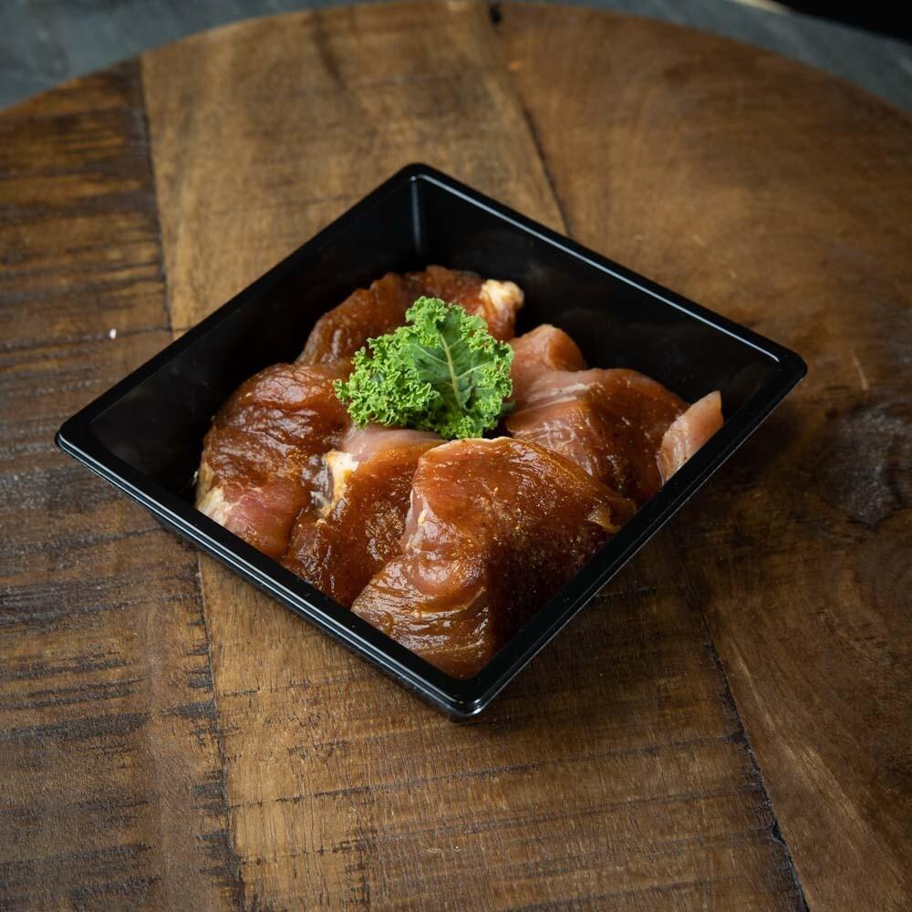 Gourmetvlees Varkenshaas (bakje 200 gr.)