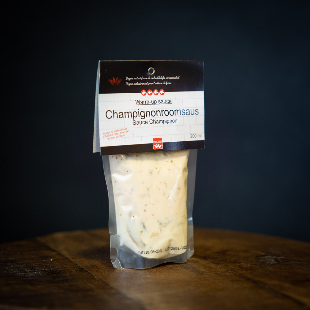 Champignon roomsaus - 200ml