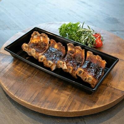 BBQ Spareribs Gemarineerd (bakje met 4 stuks á 2 ribs).