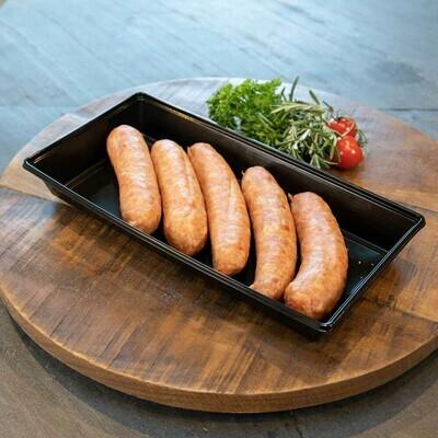 BBQ Worstjes Varken (bakje van 5 stuks).