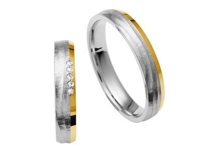 EHERINGSET GELB WEISS ROT MITTEL GOLD Bicolor   RING 585 / 000 Goldschmiede Juwelier EDER Feldbach