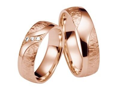 Eheringe Set Rotgold Trauringe Ringe