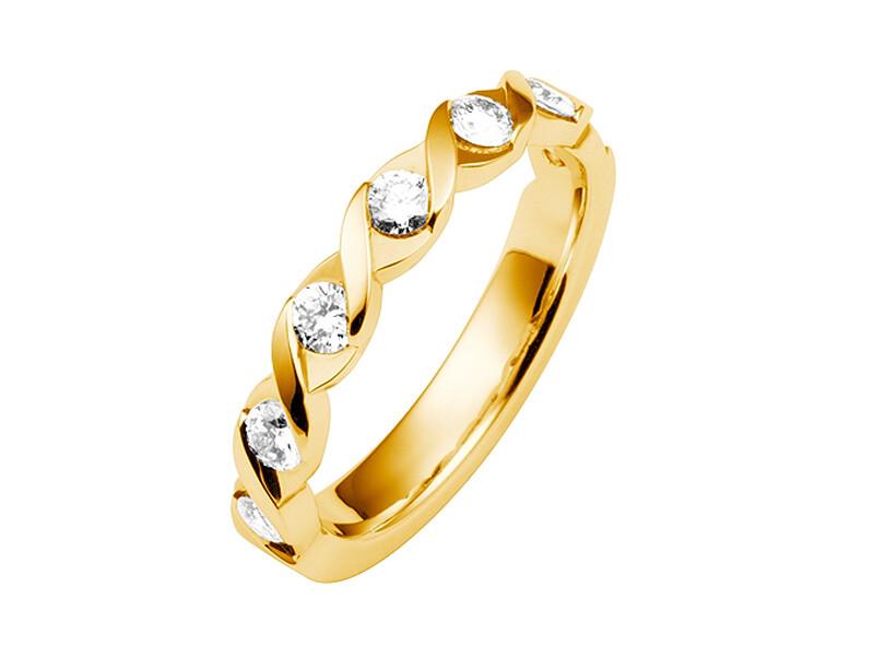 Damen Ehering Gelbgold Trauring