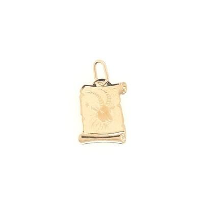 Steinbock Sternzeichen Anhänger Gold 585/000
